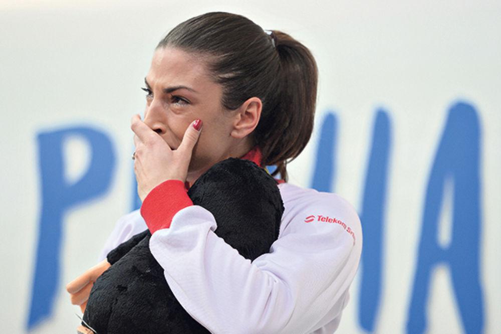 EMOTIVNA IVANA: Nisam mogla da zadržim suze, plačem i kada drugi srpski sportisti osvajaju zlata