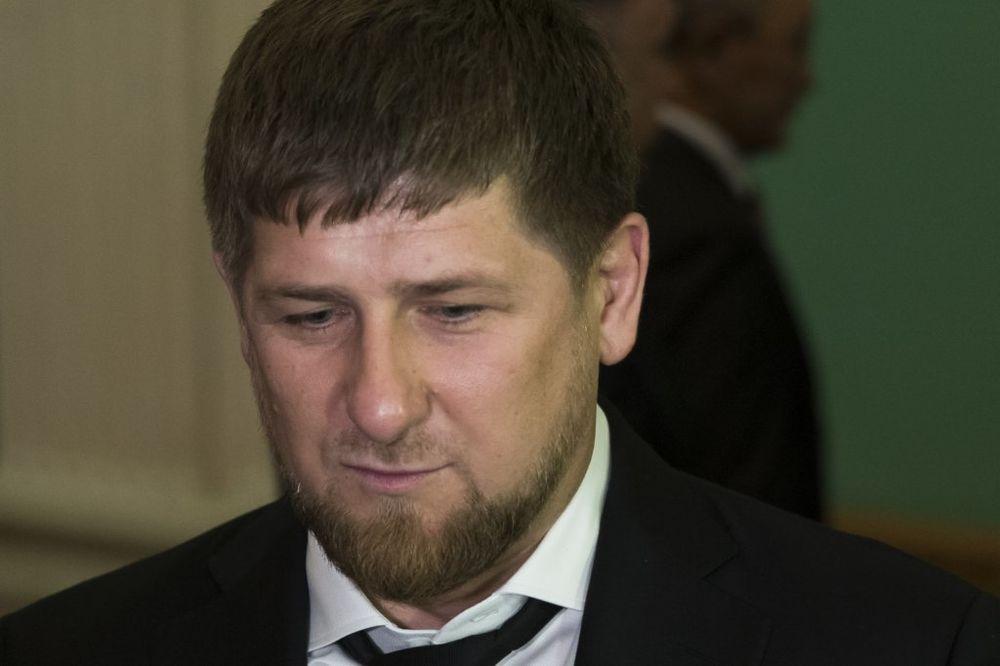 Ramzan Kadirov, Foto AP