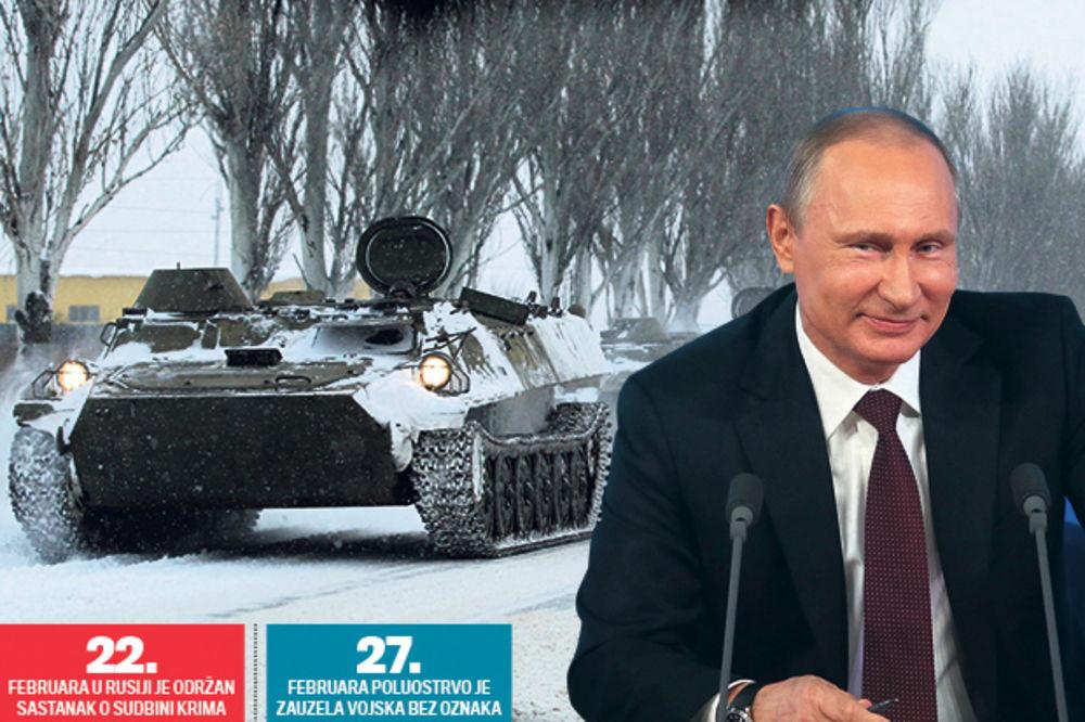 Putin: Imali smo plan kako da vratimo Krim