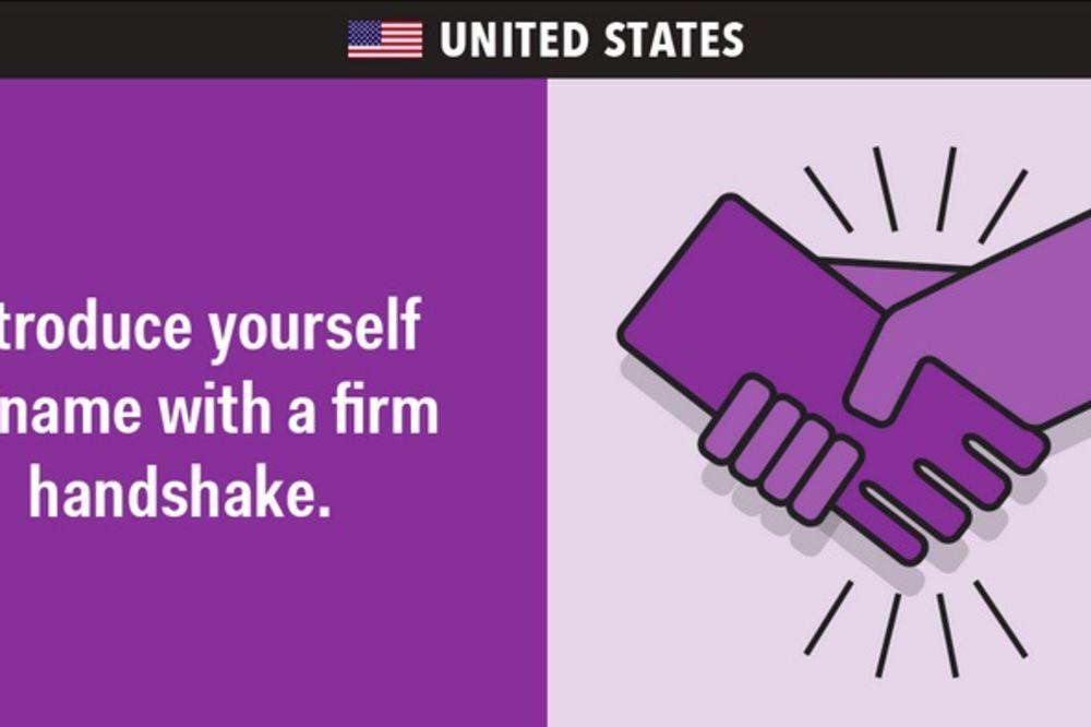DA SE NE IZNENADITE: Evo kako se pravilno rukuje širom sveta