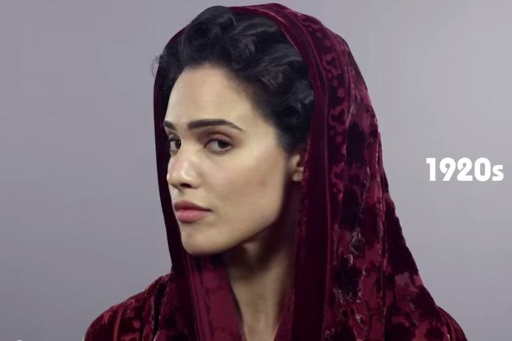 (VIDEO) EVOLUCIJA ŽENSKE LEPOTE U IRANU: 70 godina promena stalo je u video od 2 minuta