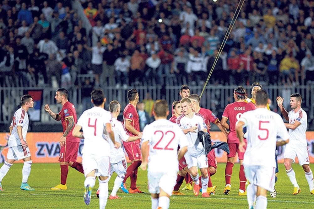 PROTIV ALBANIJE U ELBASANU: Pukli 12 miliona evra za stadion, a UEFA im nije dala dozvolu