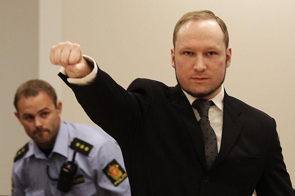 SMETA MU IZOLACIJA: Anders Brejvik podneo tužbu protiv Norveške zbog kršenja ljudskih prava