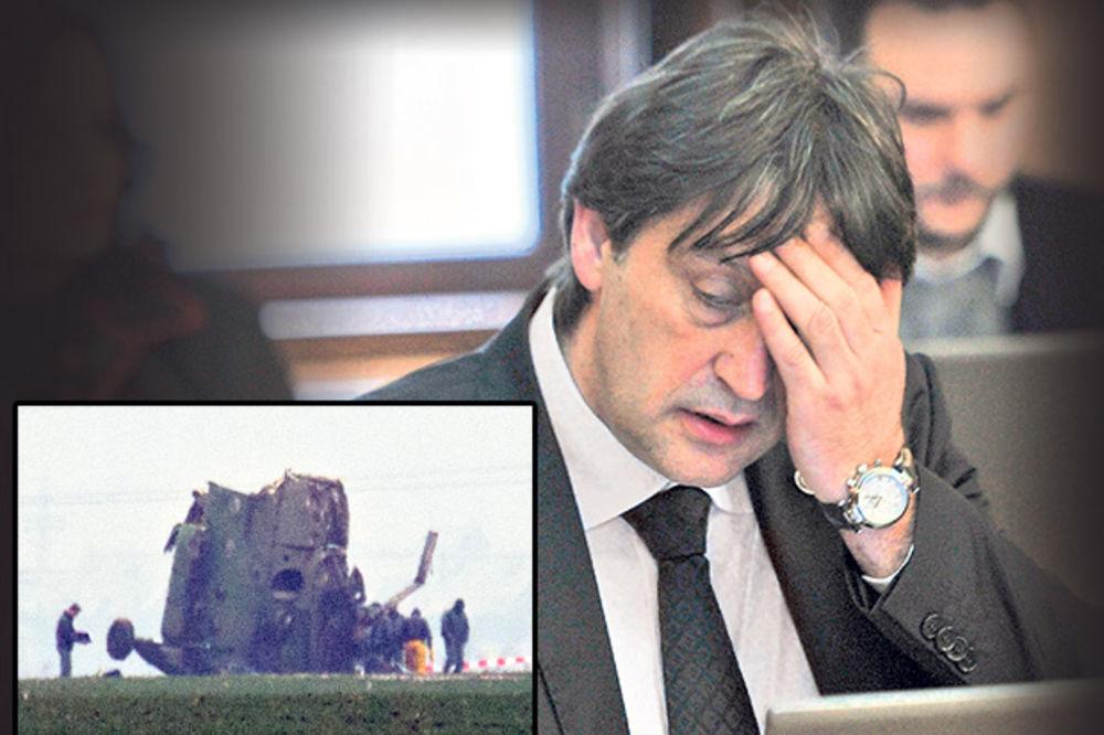 GAŠIĆ SASLUŠAN O PADU HELIKOPTERA: Prvi sam ministar koji se odazvao takvom pozivu!