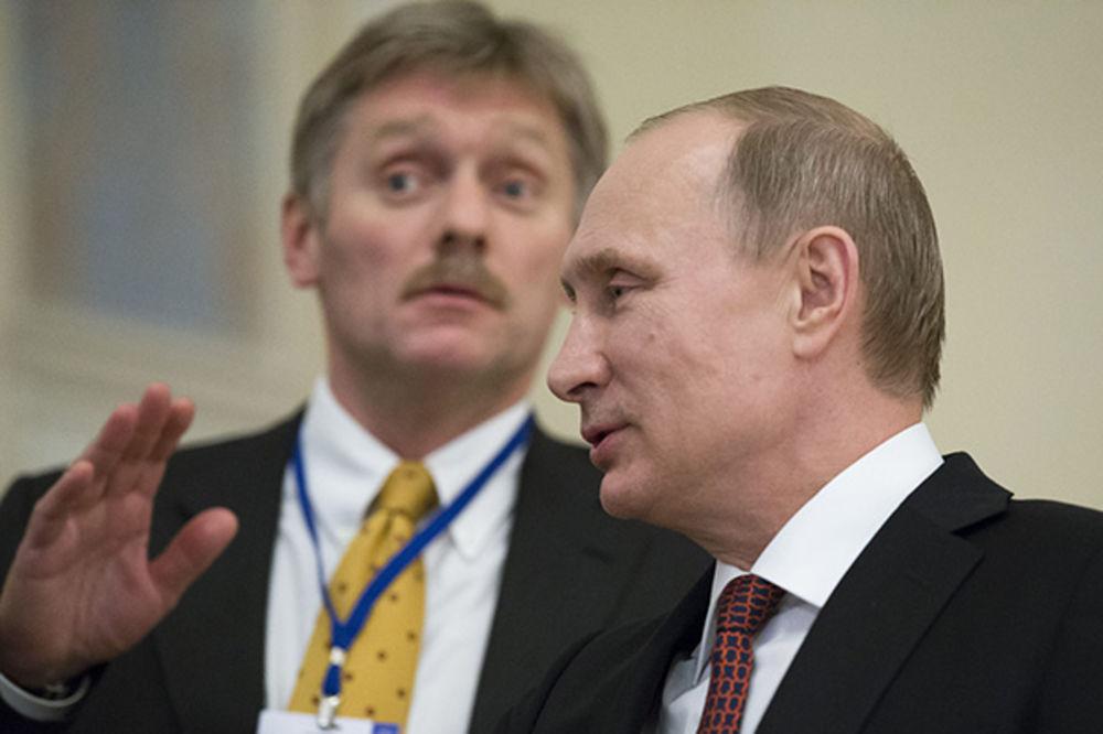 PESKOV: Rekao sam Putinu: kažu da ste oteti i da ste u Švajcarskoj dobili nekoliko dece. Čestitam!