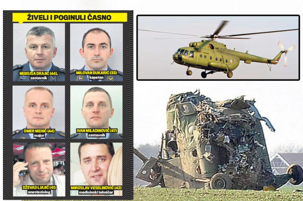 SMRT HEROJA: Helikopter se srušio zbog kvara?