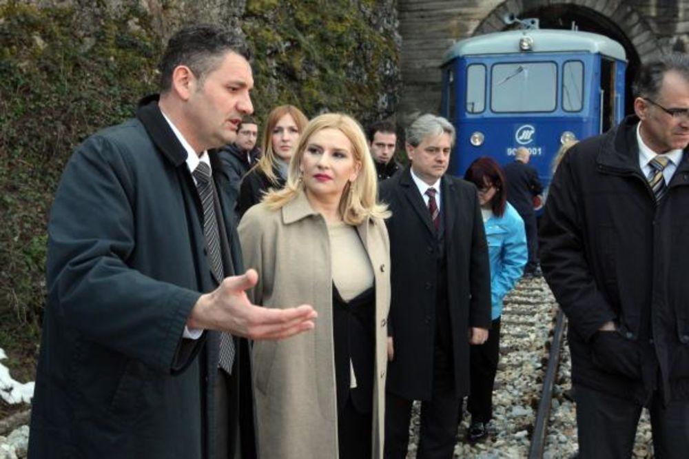 Mihajlovićeva: Železnice će od 1. jula imati 4 preduzeća