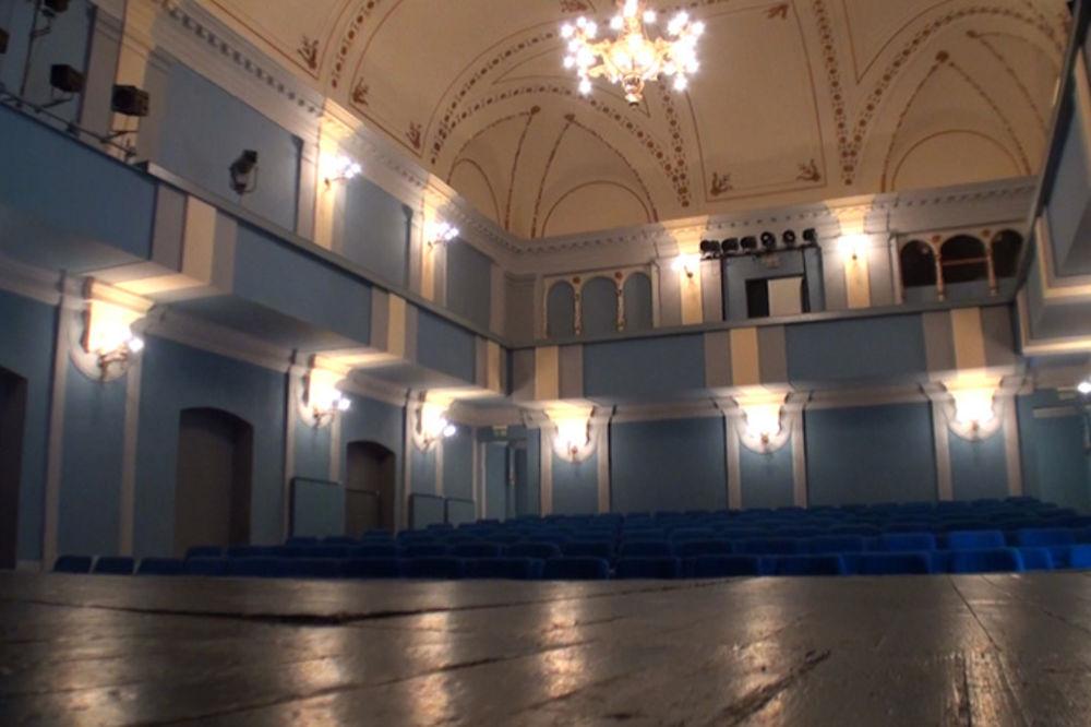 REKONTRUISANA POSLE 36 GODINA: Sala Narodnog pozorišta u Kikindi u novom ruhu