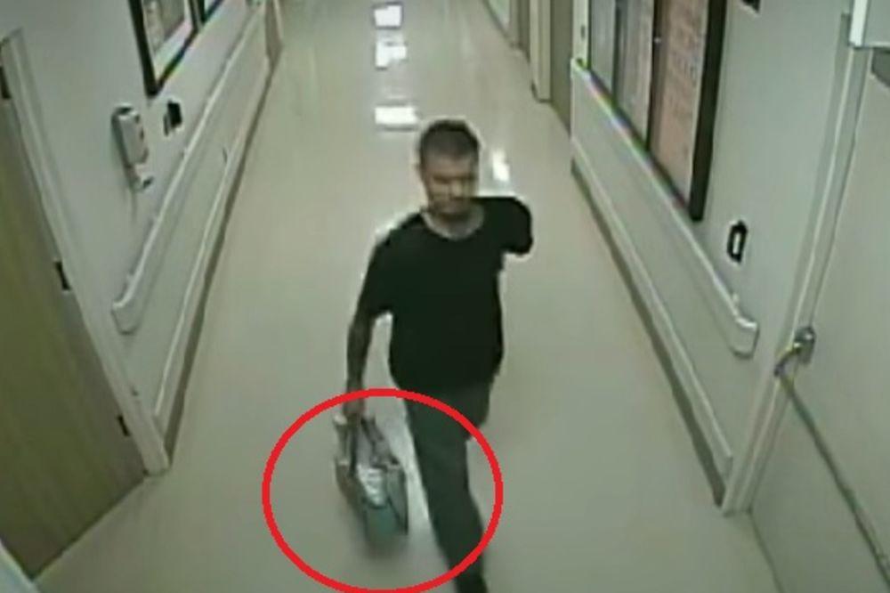 (VIDEO) UŽAS: Otac narkoman u cegeru ukrao bebu iz porodilišta