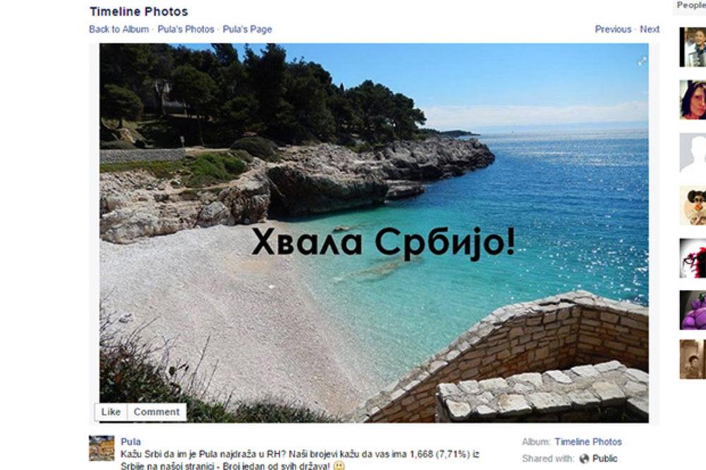 ISTRA ZAHVALILA NA ČISTOJ ĆIRILICI: Hvala, Srbijo, broj jedan od svih!