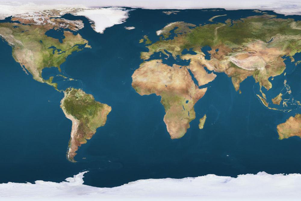 Video Mape Sveta Vas Lazu Pogledajte Koliko Je Stvarno Velika