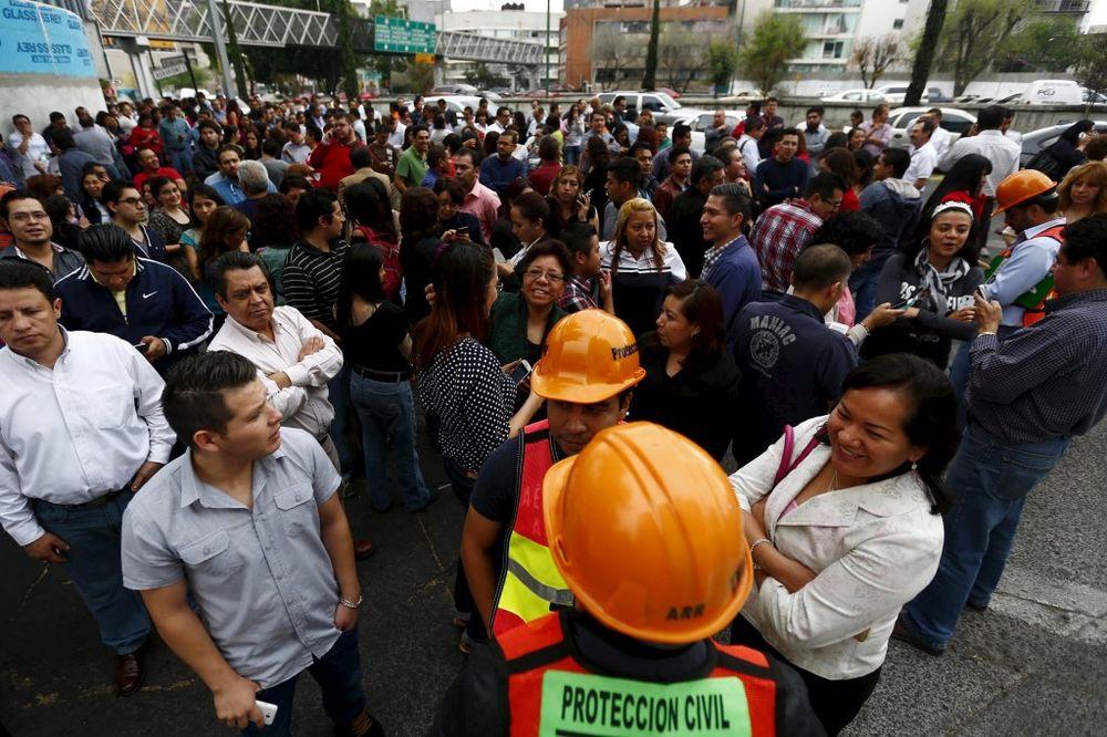 ZEMLJOTRES: 5,5 po Rihteru u Meksiku