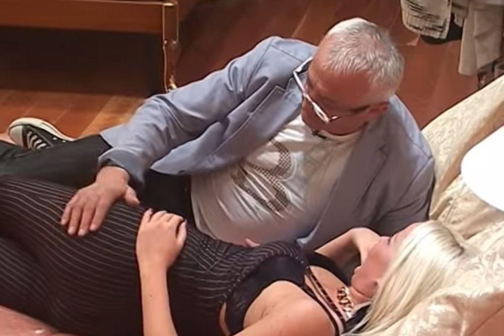 (VIDEO) I ERA OMRSIO BRKE: Ojdanić napao Atinu Ferari, bacio je na krevet i pipkao po guzi