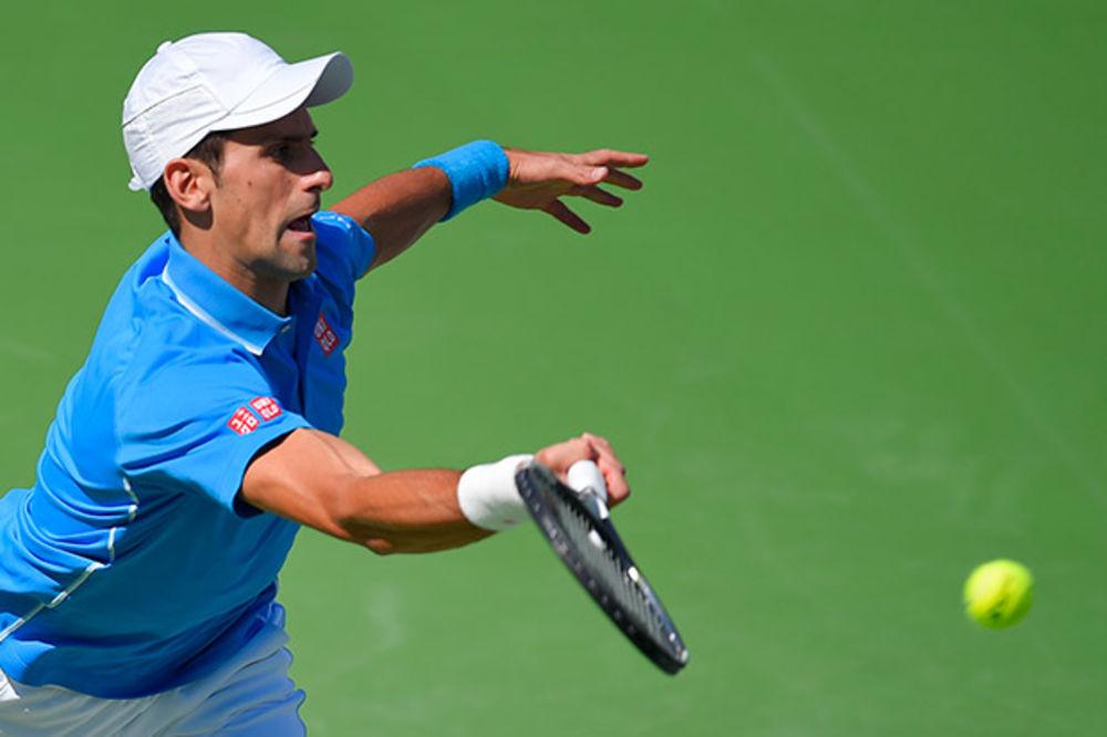 (VIDEO, FOTO) ĐOKOVIĆ ODUVAO MAREJA ZA FINALE: Novak juri četvrtu titulu u Indijan Velsu
