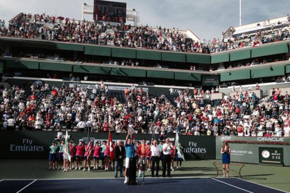 (VIDEO) NOVAKU TITULA U INDIJAN VELSU: Đoković savladao Federera i osvojio 50. trofej u karijeri