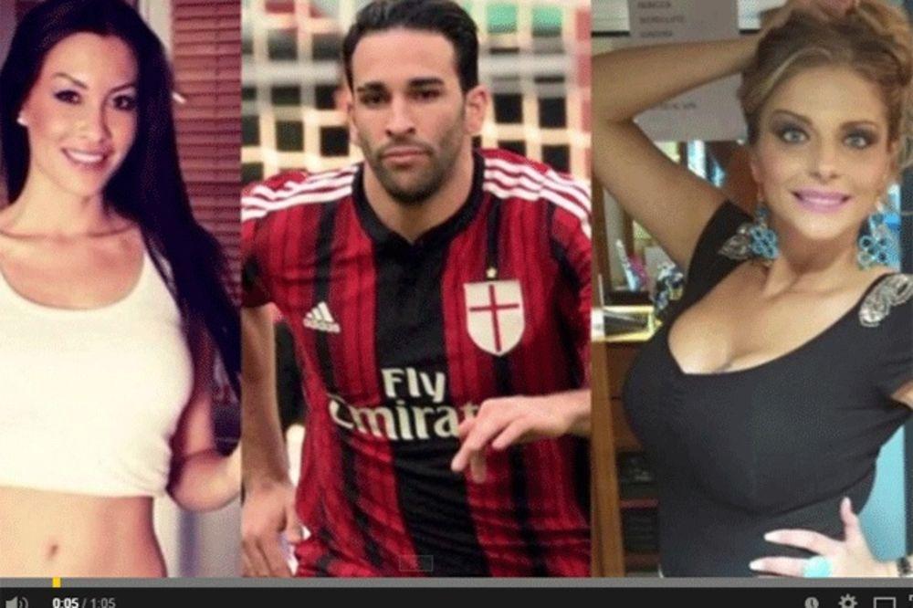 (VIDEO) SEKS SKANDAL: Fudbaleru Milana ne ide na terenu, ali ide u krevetu
