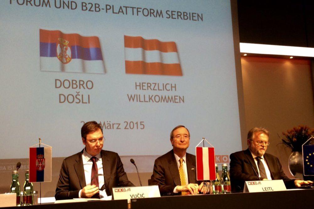 (VIDEO) VUČIĆ U BEČU: Verujem u prijateljstvo Srbije i Austrije