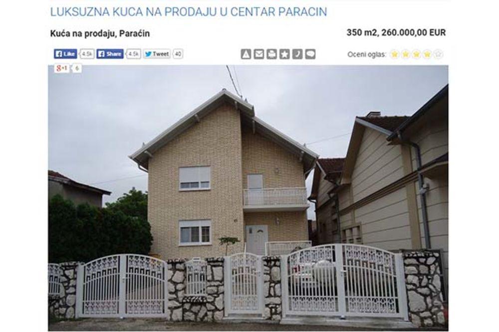 OGLAS KOJI JE NASMEJAO SRBIJU: Prodajem kucu u paracin, pijac blizo, a burek preko puta!
