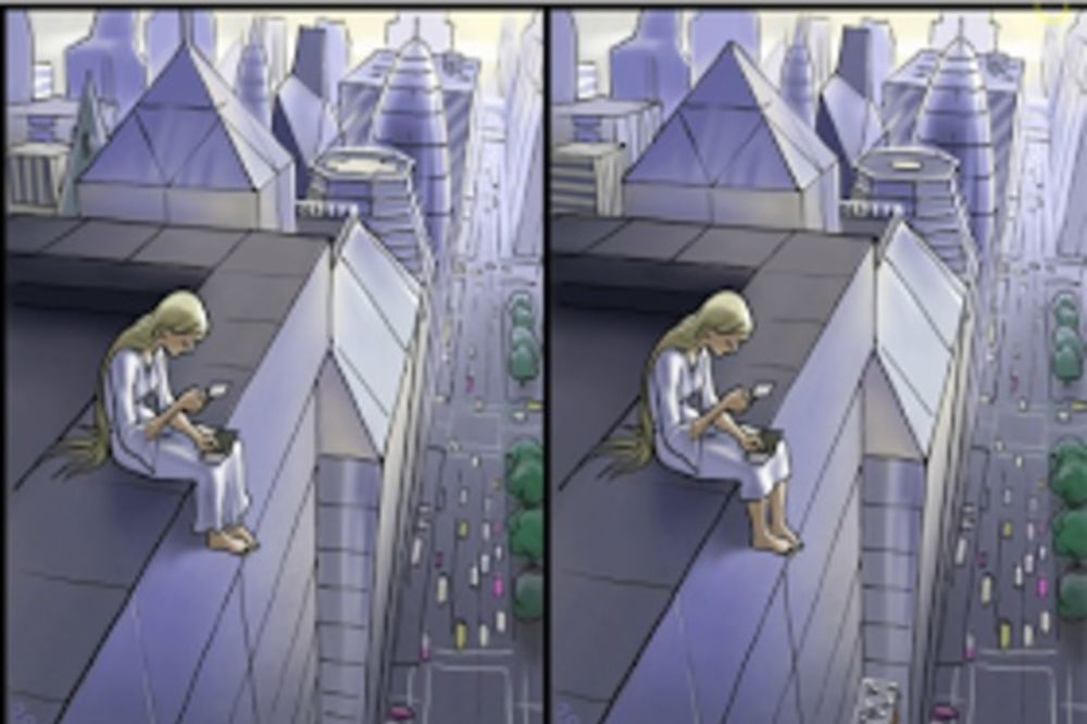 IMATE SAMO 20 SEKUNDI: Da li možete da otkrijete svih 5 razlika na ovoj slici?
