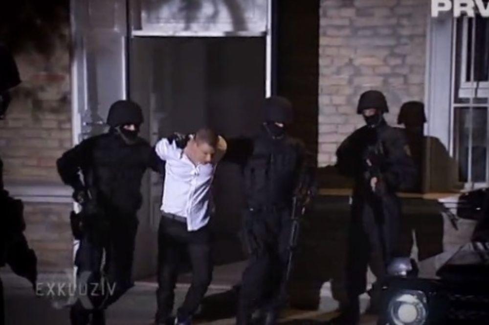 (FOTO) ZA PET MINUTA: Uhapšen Relja iz Elitnih odreda!