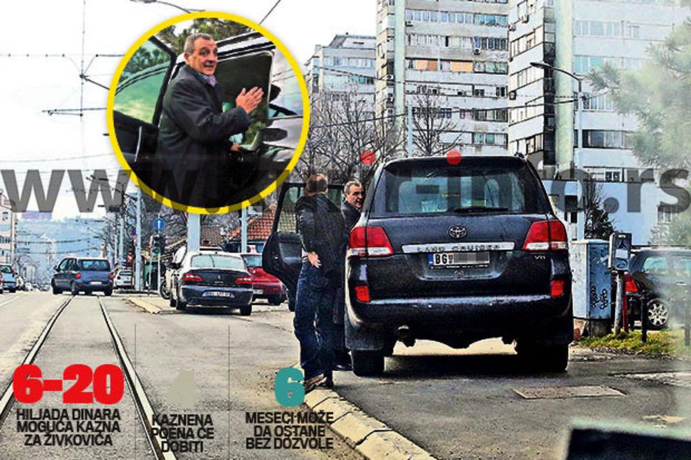 ZOKI BUNDA DIVLJAO U DŽIPU: Zoran Živković se vadio da žuri na sastanak?!