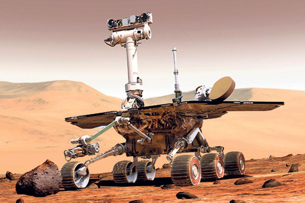 Oportjuniti postao prvi maratonac na Marsu!