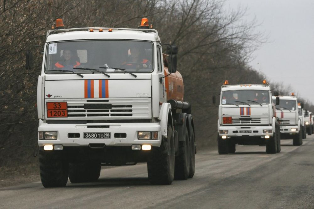 STIŽE POMOĆ: Rusija uputila Donbasu još 2 konvoja humanitarne pomoći