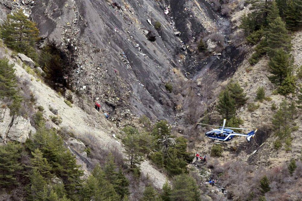 Nemački avion koji je pao u Francuskoj, foto Rojters