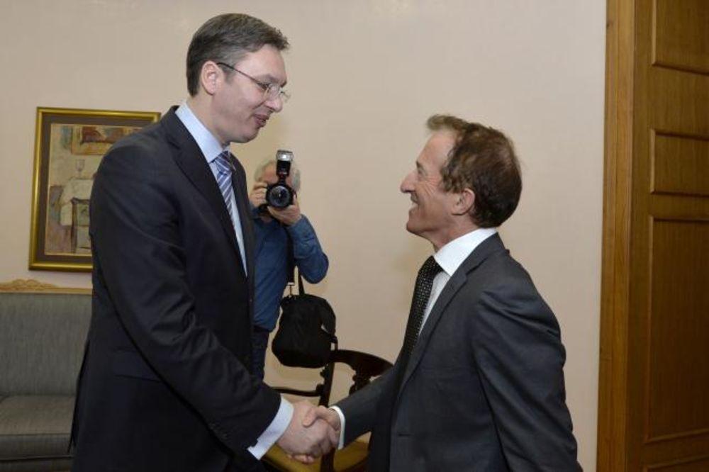 Vučić primio šefa Misije OEBS u Beogradu