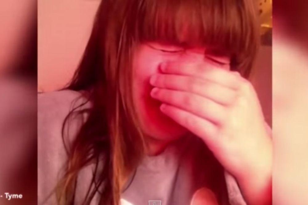 (VIDEO) DRAMA MEĐU HISTERIČNIM TINEJDŽERKAMA: Plačem tako jako, mrzim ovaj život