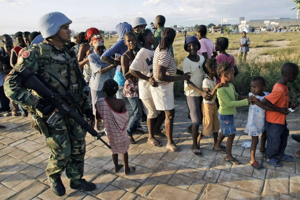 Beda: Haiti posle zemljotresa 2010. (Foto: AP)