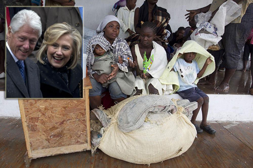 SKANDAL TRESE KLINTONOVE: Ovako su Bil i Hilari opljačkali zemljotresom razoreni Haiti