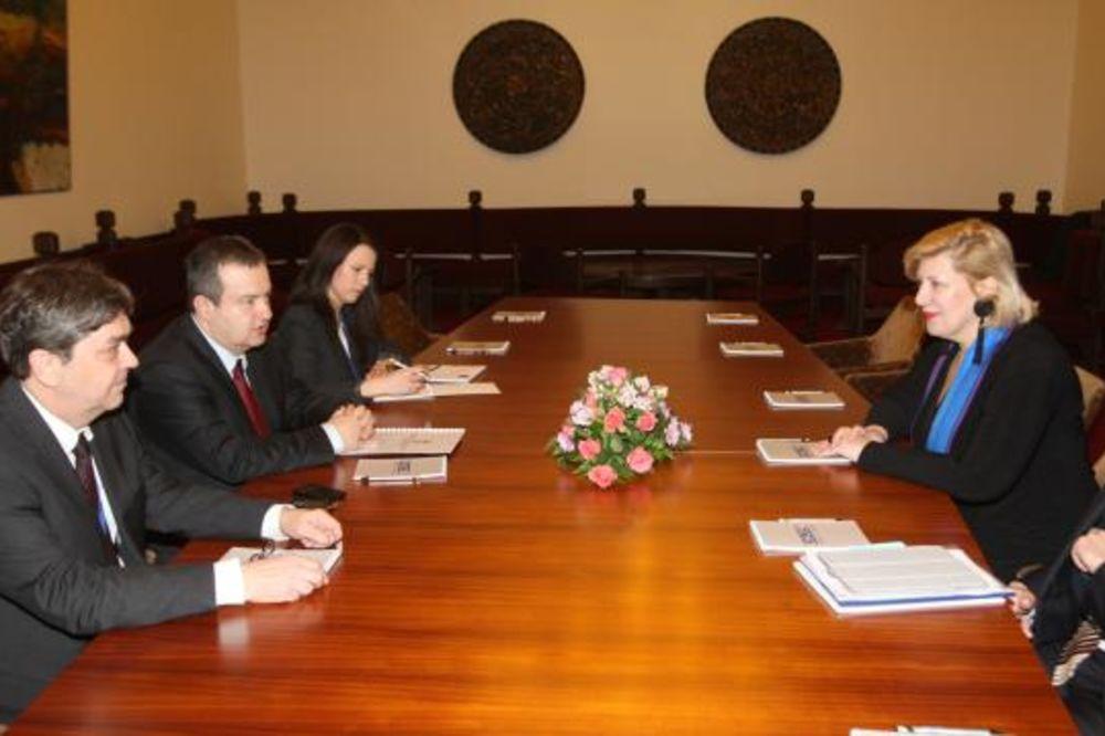 Dačić i Mijatović razgovarali o bezbednosti novinara