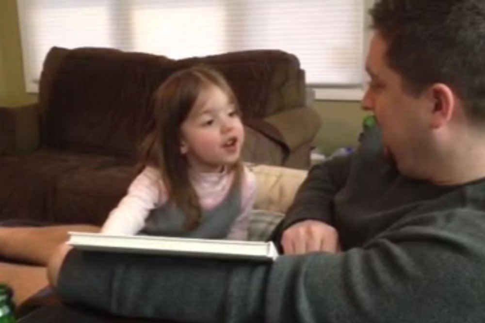 (VIDEO) HIT NA INTERNETU: Neprikladna reakcija devojčice na vest da će postati starija sestra