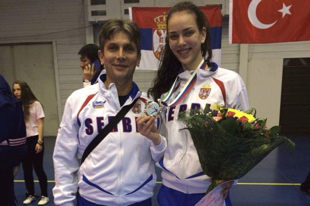 SRPSKA HEROINA: Tijana Bogdanović ima samo 17 godina, a već je vicešampionka Evrope