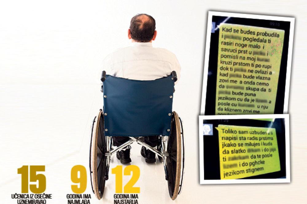 KRAJ AGONIJE U OSEČINI: Pedofil (62) u kolicima terorisao devojčice