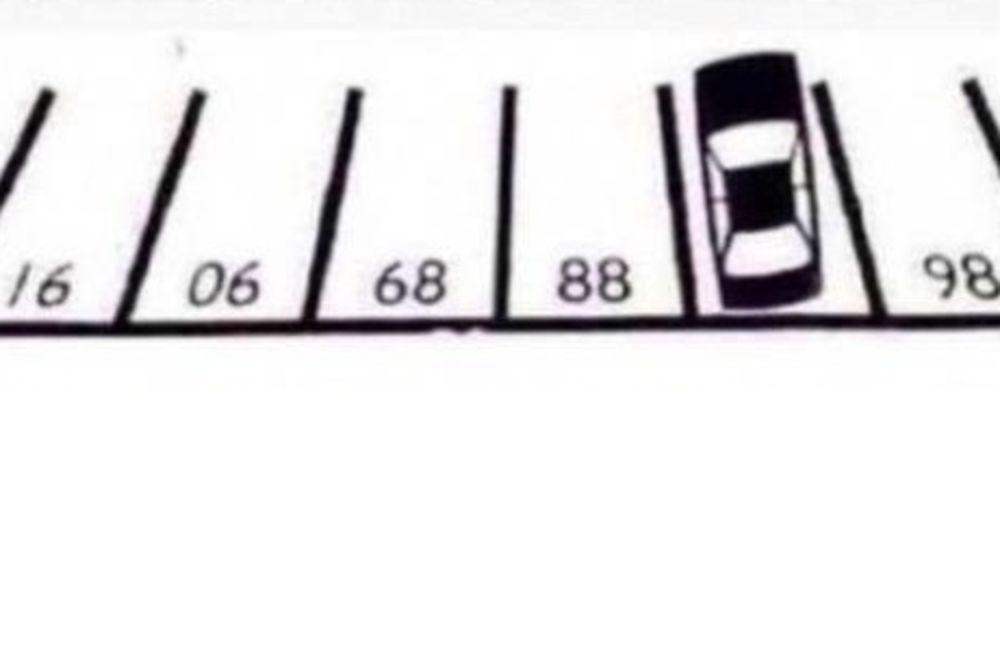 DECA OVO REŠE ZA 20 SEKUNDI: Koji je broj ispod parkiranog automobila?