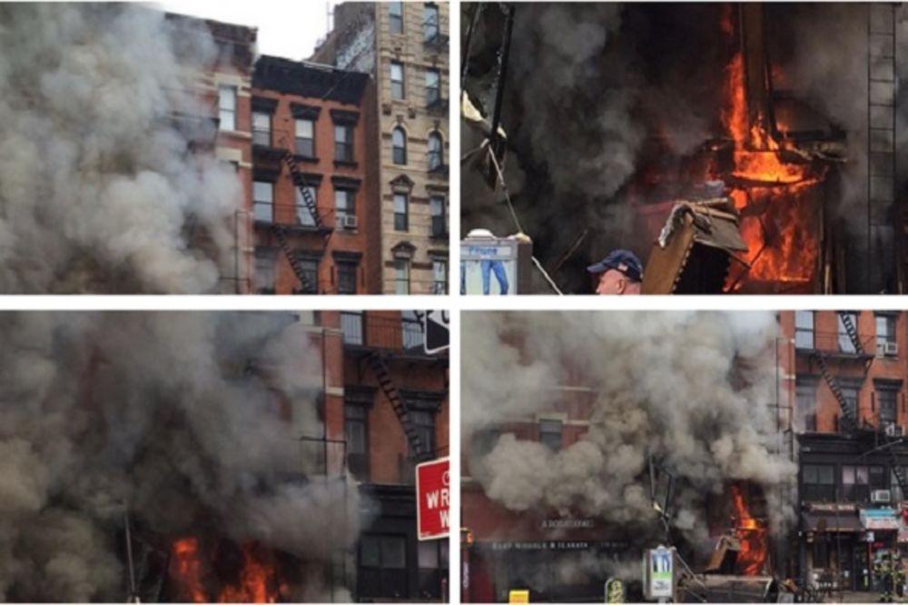(VIDEO) EKSPLOZIJA NA MENHETNU: Urušila se zgrada u Njujorku!