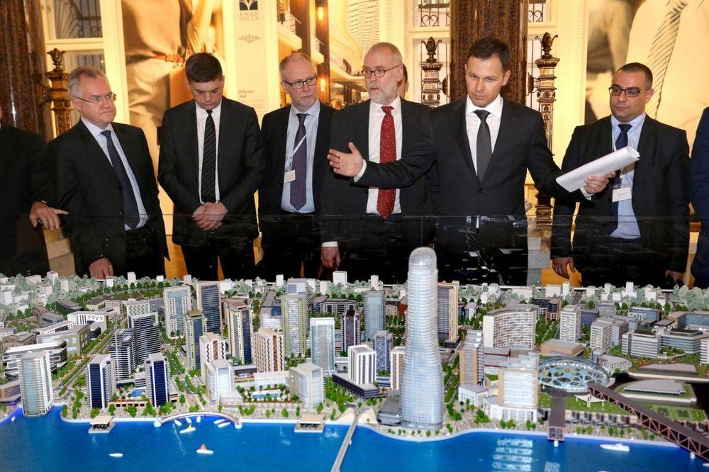 Siniša Mali finskoj poslovnoj delegaciji predstavio Beograd na vodi