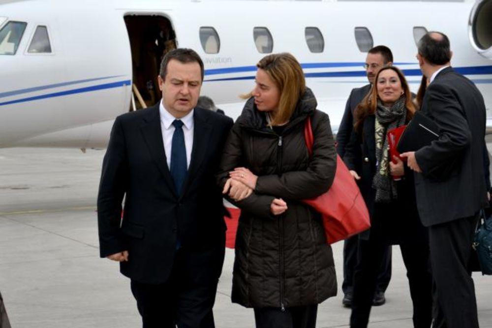 Sastali se Dačić i Federika Mogerini