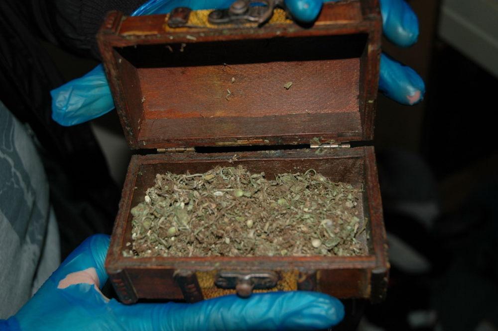 PRETRESLI TRI STANA U NS: Zaplenjeno oko 3,5 kilograma različitih narkotika!