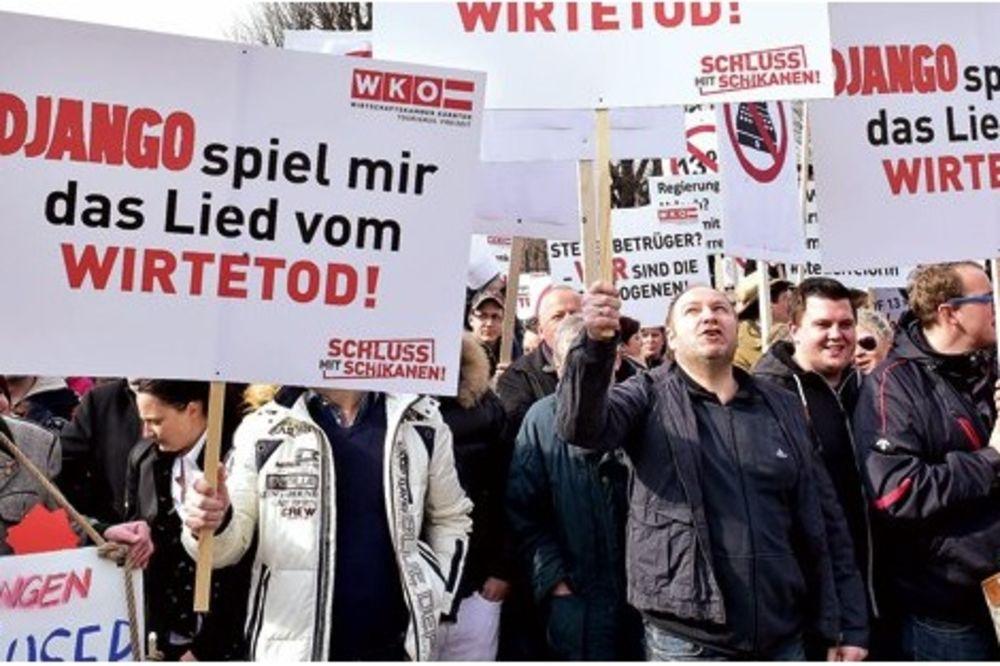 POBUNA UGOSTITELJA U AUSTRIJI: 100.000 potpisa protiv zabrane pušenja!