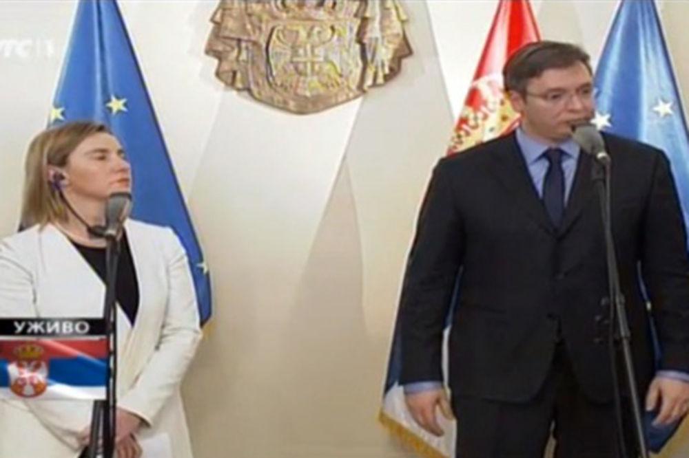 VUČIĆ-MOGERINI: Srbiji se ne gleda kroz prste!