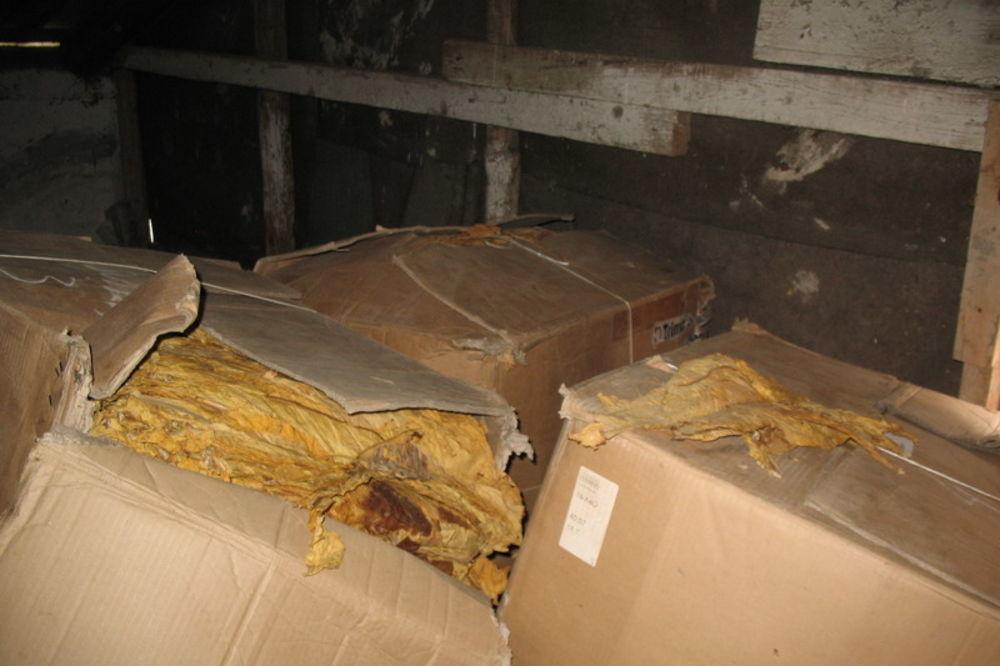 PRETRES U LAĆARKU: U kući pronađeno 60 kilograma duvana