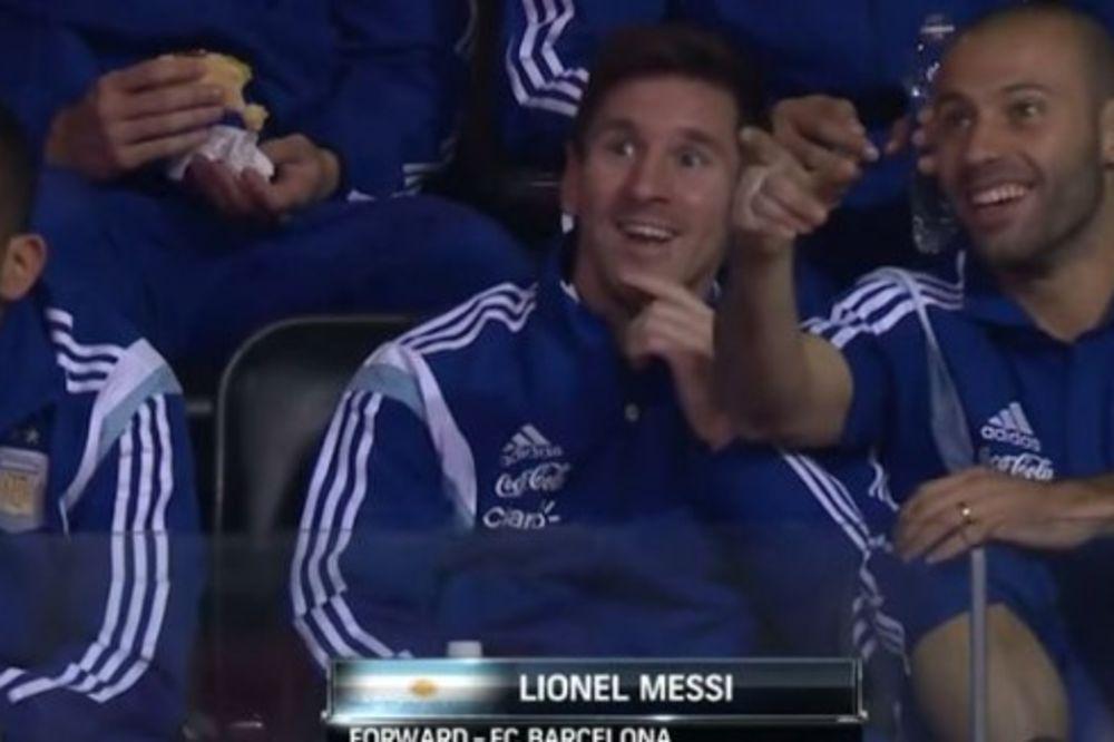 (VIDEO)  IZAŠAO NA TELEVIZOR: Mesija kamera hvata i kada ne igra fudbal