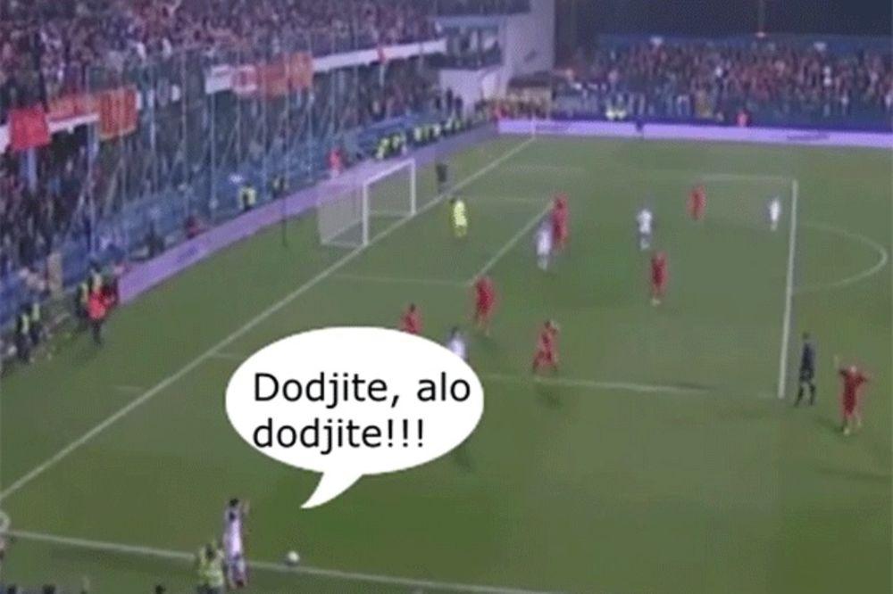(VIDEO) ŠALJIVI CRNOGORCI: Ruski fudbaler našao dva evra i svi odoše na piće