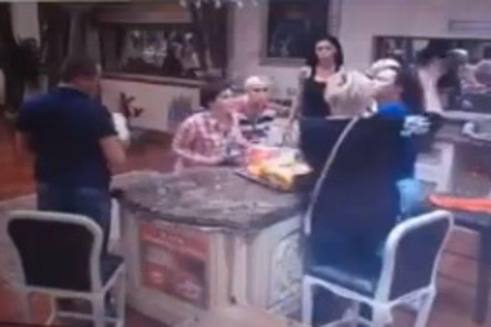 (VIDEO) TUČA U PAROVIMA: Jelena Golubović udarila šamar Ružici!