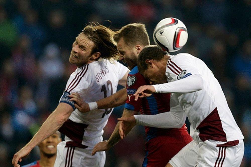 BLOG UŽIVO: Veliki kiks Čeha u kvalifikacijama za EURO 2016