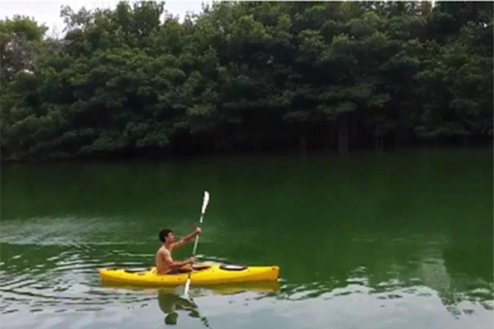 (VIDEO) Novak Đoković jurio krokodile po Majamiju