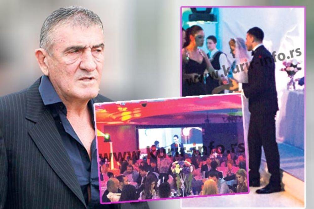 NA SVADBI GODINE: Najmoćniji Crnogorac udao ćerku